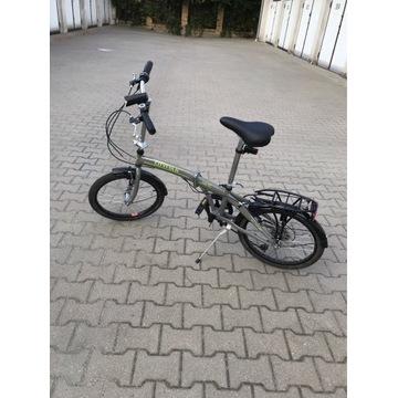 Rower niemiecki składak 20 cali -7 biegów