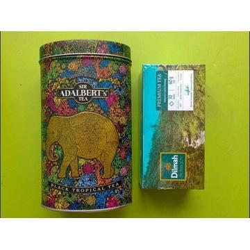 Zestaw herbata czarna Dilmah 30x puszka Adalbert's