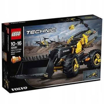LEGO Technic Volvo ładowarka kołowaZEUX 42081 Nowa