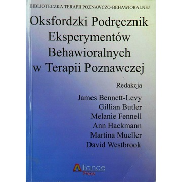 Oksfordzki podręcznik eksperymentów behawioralnych