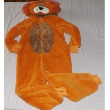 Piżama kombinezon lew plusz 110-116