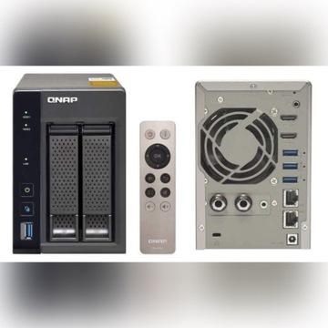 QNAP TS-253A-8G (8GB RAM) WD RED 2x3TB HDMI PILOT