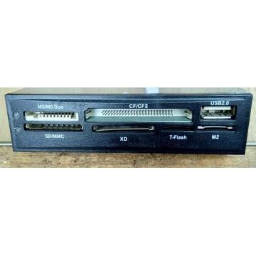 Wewnętrzny czytnik kart pamięci USB2.0