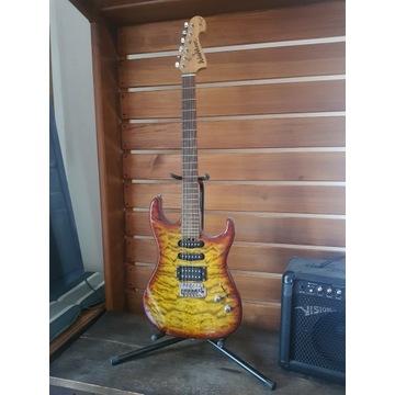 Gitara elektryczna washburn X series + wzmacniacz