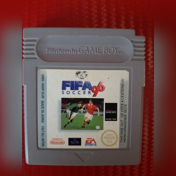 Gra Nintendo Game Boy FIFA 96 Soccer-Unikat