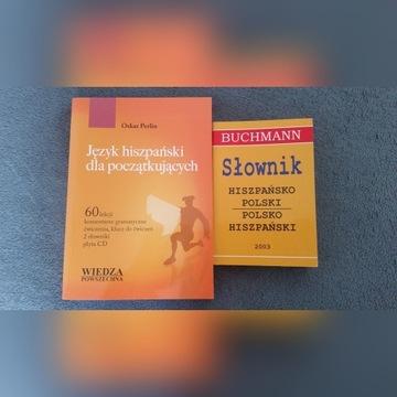 Perlin - hiszpański dla początkujących +CD+słownik