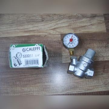 Reduktor Ciśnienia 3/4 z Manometrem 3 bar CALEFFI