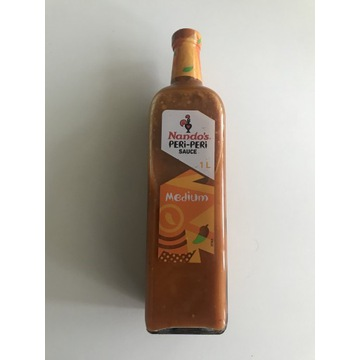 Sos Nando's PERI- PERI Sauce Medium 1L