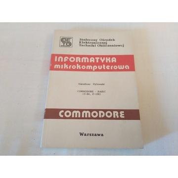 Commodore c64 informatyka mikrokomputerowa Basic