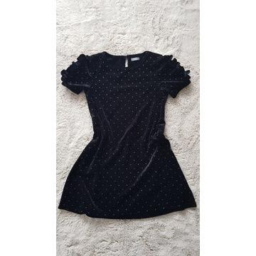 * NEXT  * sukienka z bufkami rozmiar 128