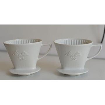 Zaparzacze do kawy filtry Melitta dwie sztuki 102