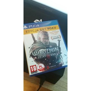 Wiedźmin Dziki Gon PlayStation 4 + Dodatki DLC