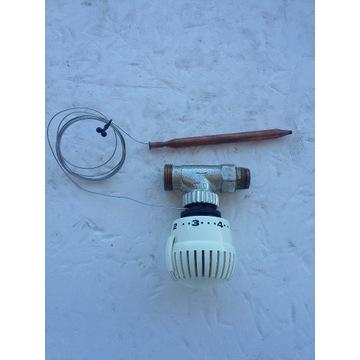 Głowica termostatyczna z kapilarą