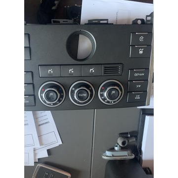 Panel klimatyzacji sterownik rangę rover l322 lift