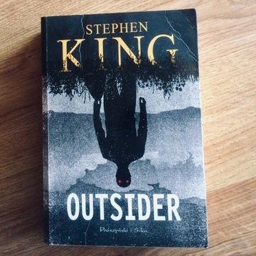 Stephen King Outsider używane stan dobry pół ceny