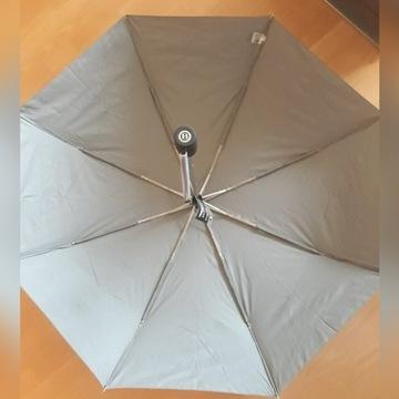 markowy parasol męski Bentley w kolorze szarym