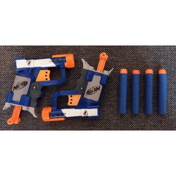 Zestaw NERF (2x pistolet Nerf + 4 strzałki Nerf)