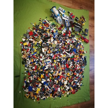 Lego Mix City, Ninjago Inne 10,5 kg