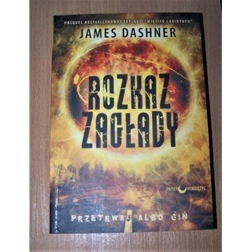 Rozkaz zagłady James Dashner