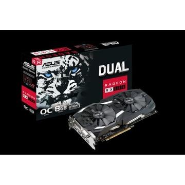 Asus Radeon RX 580 8 GB GWARANCJA 29 m-cy