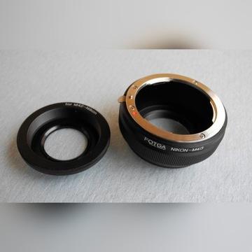 FOTGA adapter - MICRO 4/3 NIKON F i M42 olympus/pa