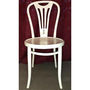 Stare krzesło gięte, drewniane , polskie