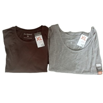 Koszulka + bezrękawnik  PRIMARK XL ( 2 szt. )
