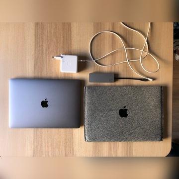 MacBook Pro 13' 2017 - Stan idealny - komplet