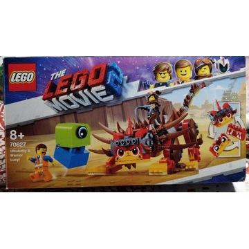 LEGO MOVIE 2 70827 ULTRAKOCIA I LUCY WOJOWNICZKA