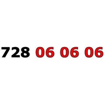 728 06 06 06 ŁATWY ZŁOTY NUMER STARTER