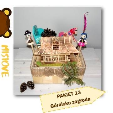 GÓRALSKI folk pakiet prezent upominek dla dziecka
