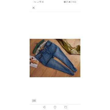 Spodnie dżinsowe 46r