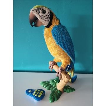 Papuga interaktywna mówiąca naśladująca