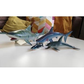 Rekin rekiny delfin duże zabawki figurka figurki
