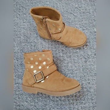 Buty dziewczynka 24 Primark kozaczki
