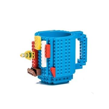 KLOCKOWY KUBEK + LEGO PREZENT NA KAWĘ I HERBATĘ
