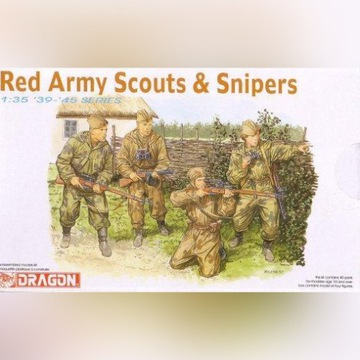 RED ARMY SCOUTS & SNIPERS  DRAGON 6068