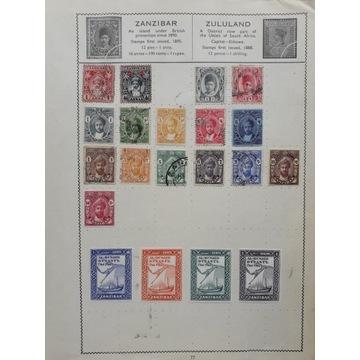 GB - kolonie angielskie- Zanzibar
