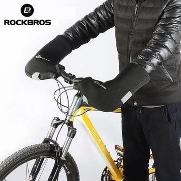 Rękawice na rower osłony na dłonie ręce