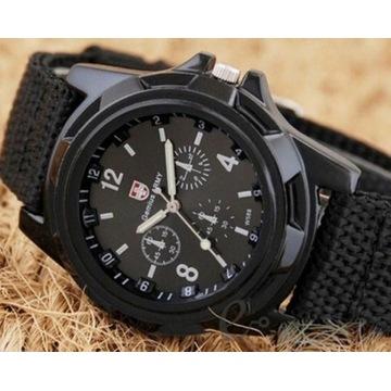 Kwarcowy zegarek męski  LICYTACJA OD 1 ZŁ