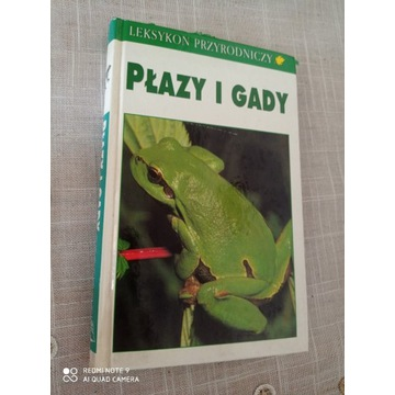 Płazy i gady Polski - Atlas