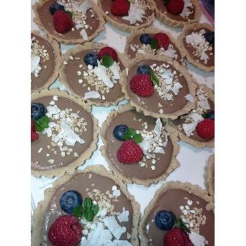 Tartaletki ciastka muffiny bez glutenu bez laktozy