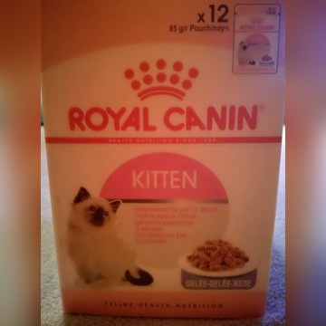 Royal Canin kitten - saszetki