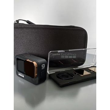 GoPro Hero 9 Black + PolarPro ND Filters + akces.