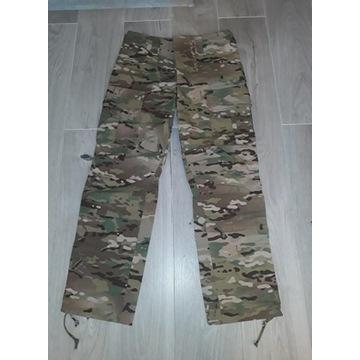 Spodnie bojowe z tkaniny trudnopalnej GROM