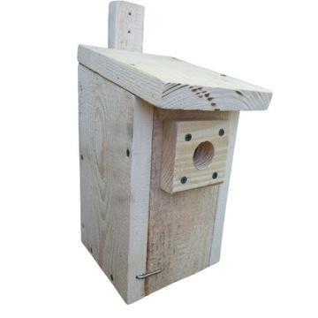 Budka domek lęgówka lęgowa dla ptaków SUROWA