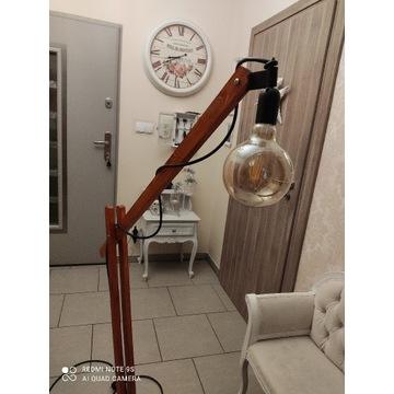Lampa LOFT industrialna rustykalna podłogowa