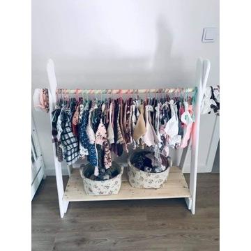 Wieszak dziecięcy stojak ubranka dla dziecka