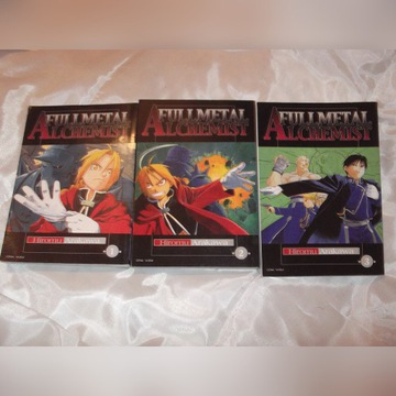 Full Metal Alchemist (tom 1,2,3)