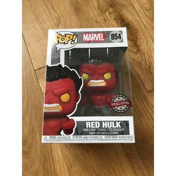 Funko POP Marvel Red HULK 854 Figurka Unikat